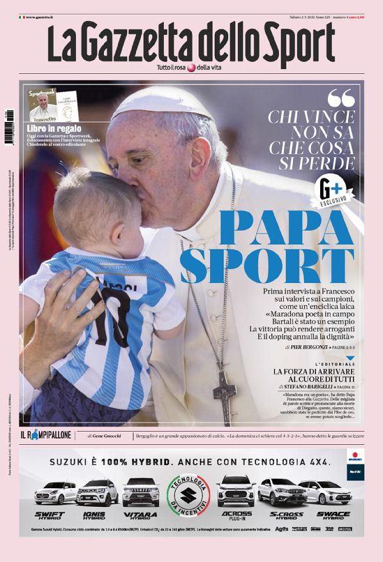 Papa y deporte