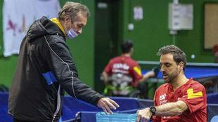 Vladimir Choubine junto a Iker Sastre en su regreso tras el ictus.