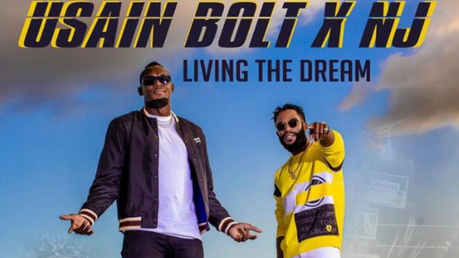 Usain Bolt estrena la canción 'Living The Dream' junto a su amigo y productor NJ