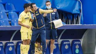 """Emery confirma 'lo de Kubo': """"Cuando tuvo la cabeza en el Villarreal, nos ayudó"""""""