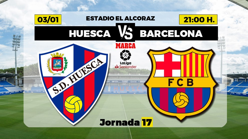 Huesca vs Barcelona confirmed line-ups: Messi comes in for Griezmann