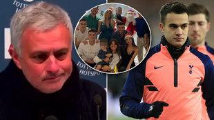 """Reguilón iba a pasar la Navidad solo y Mourinho le regaló un cochinillo: """"Estoy decepcionado"""""""