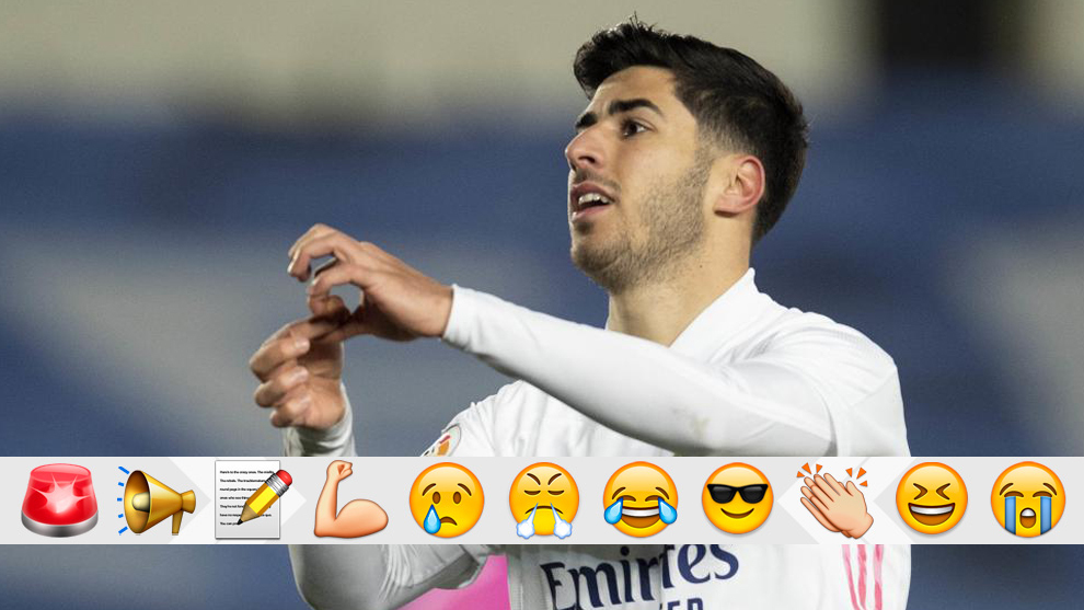 Asensio refreshes our memories