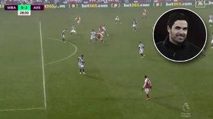 La jugada de pizarra de Arteta que ha dejado loca a la Premier: ¿no te recuerda al Barça de Pep?