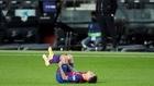 Coutinho, se duele de su lesión en el partido ante el Eibar.