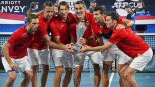 El equipo serbio que ganó la primera edición de la ATP Cup