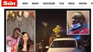 Escándalo en el City por la fiesta 'ilegal' de Mendy en Nochevieja