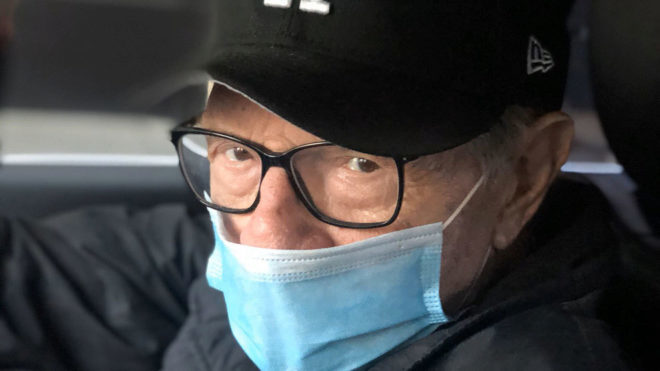 Larry King hospitalised with COVID-19