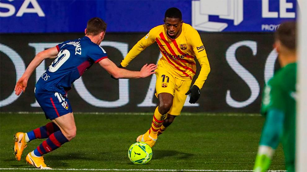 Notes des joueurs de Barcelone vs Huesca: Dembele est un génie
