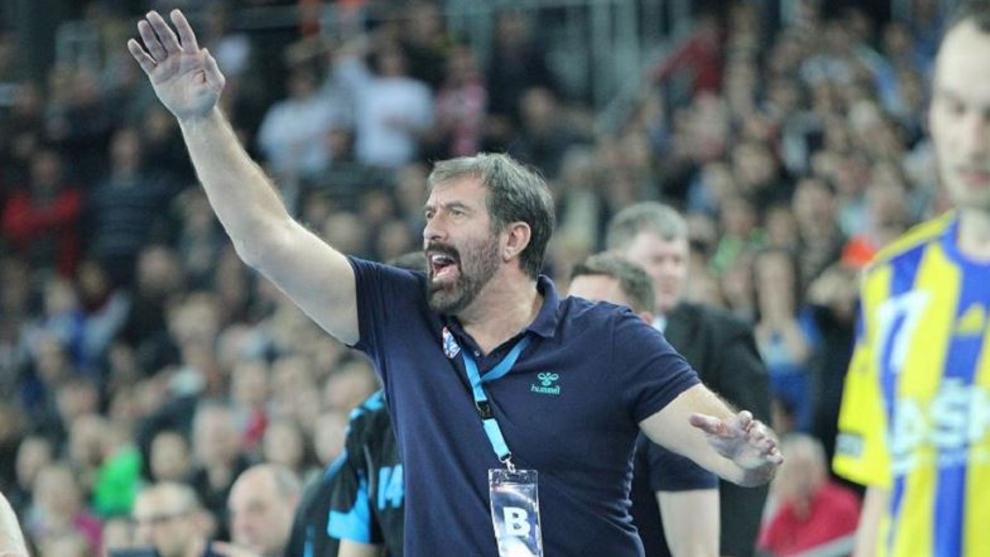 Veselin Vujovic, durante una de sus dos etapas en el RK Zagreb /