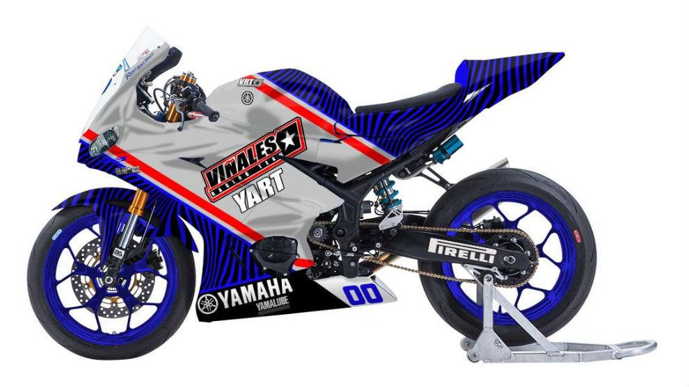 Así lucirá la Yamaha del Viñales Racing Team.
