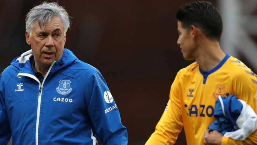 Carlo Ancelotti asks for patience with James