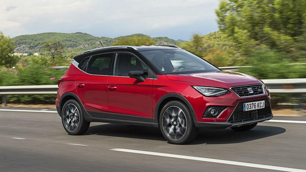Seat Arona: el SUV urbano alcanzó las 15.365 unidades vendidas en 2020.