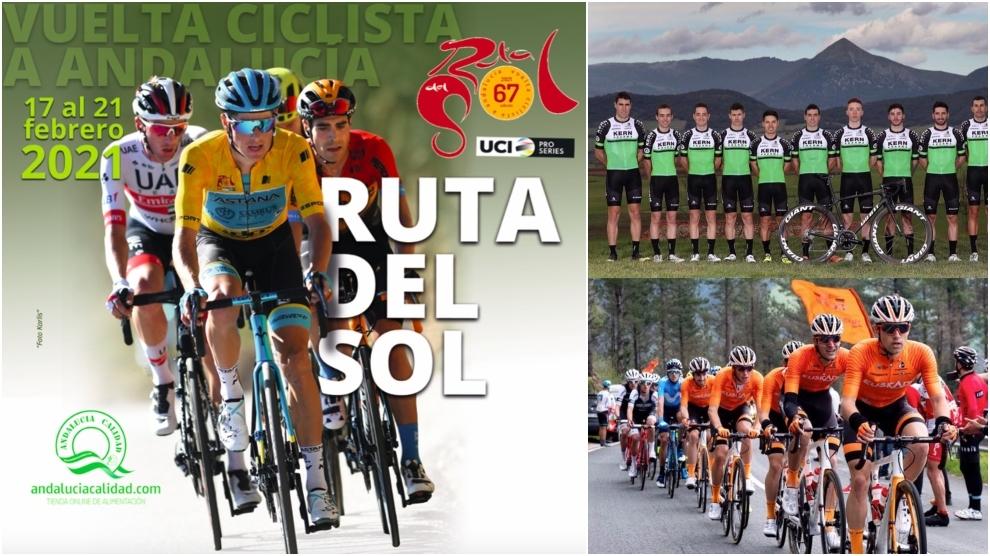 Euskaltel y Kern Pharma estarán en una Vuelta a Andalucía con claro...