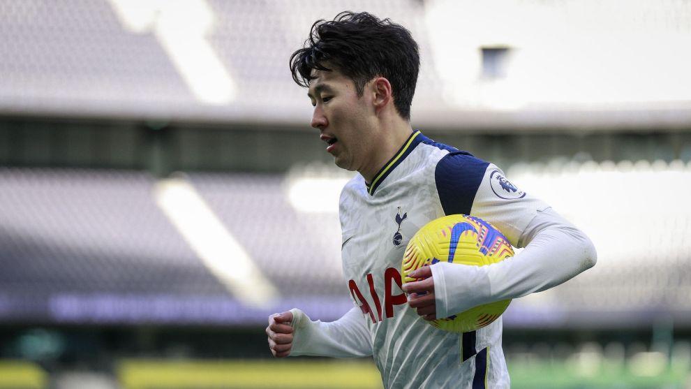 Son Heung-min of Tottenham