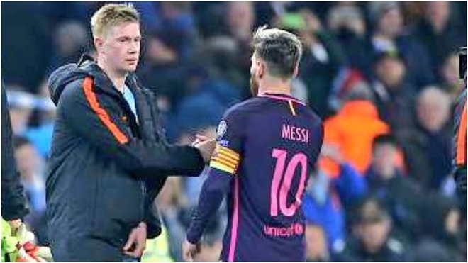 De Bruyne and Messi