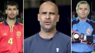 Guardiola culpa a Cañizares de su ausencia en el chat de la selección