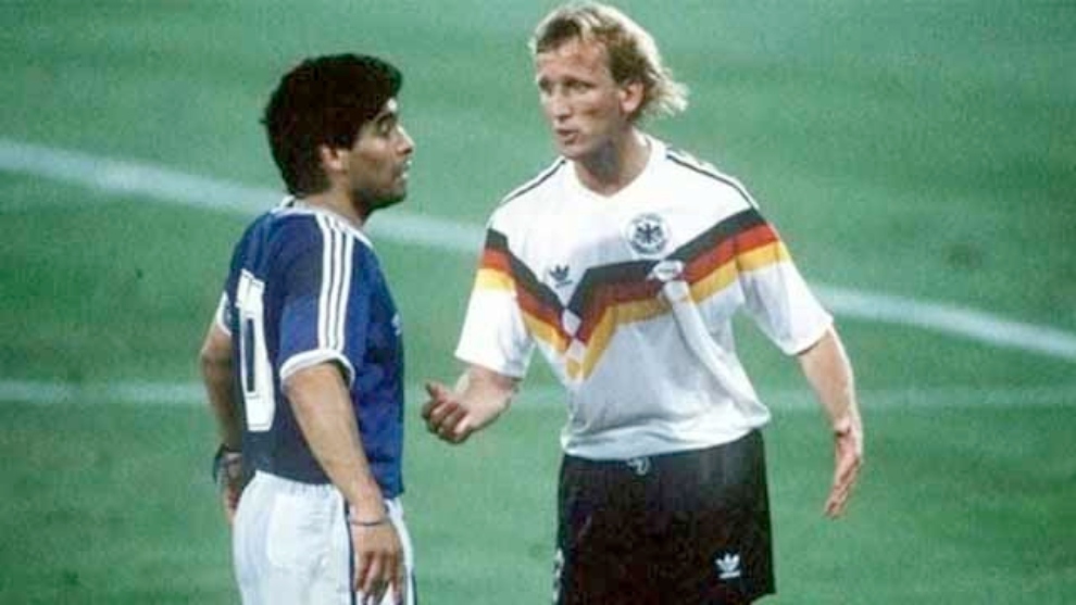 Andreas Brehme remembers Maradona: On the pitch, he was always fair