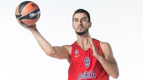 Westermann posa en una imagen de su época en el CSKA de Moscú