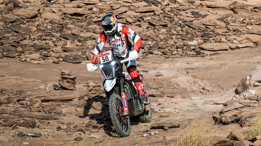 CS Santosh in coma after Dakar Rally accident