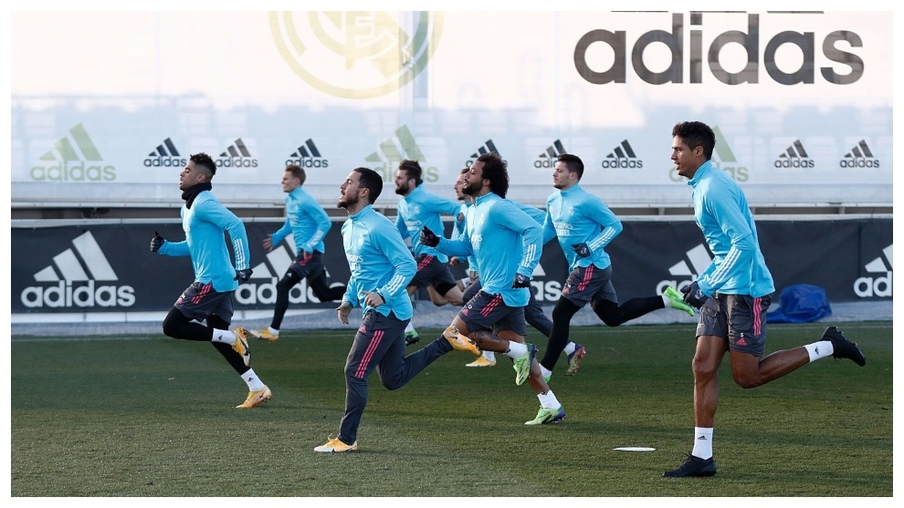 Real Madrid train without Carvajal: A cold Pamplona awaits
