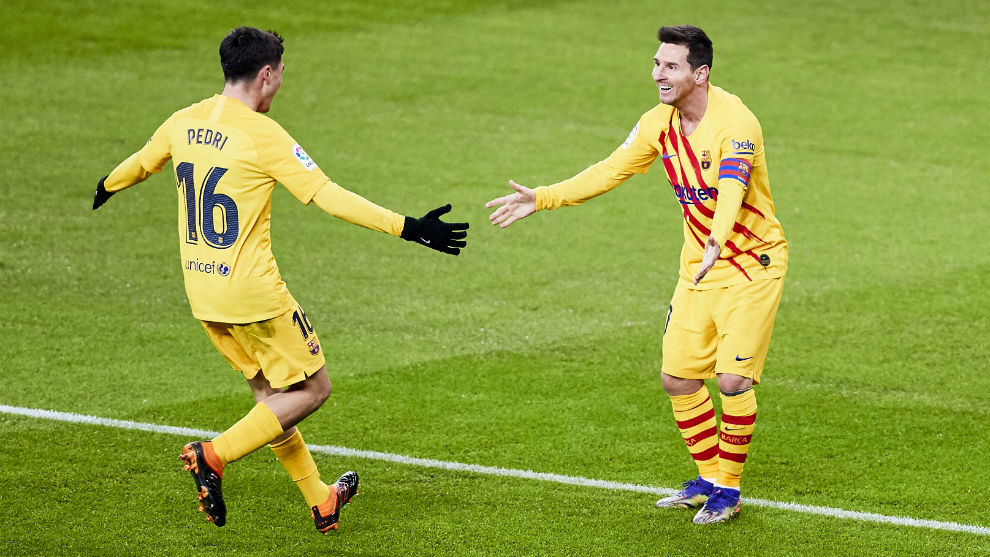 Messi delivers goods on Three Kings Day