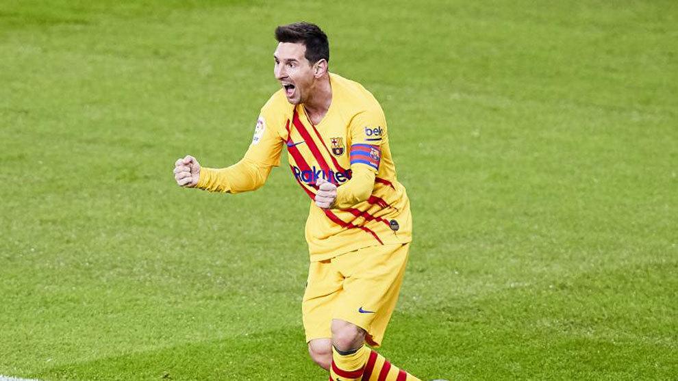 Volvió el rey Messi