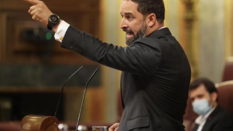 Santiago Abascal Tuit Asalto al Capitolio EEUU