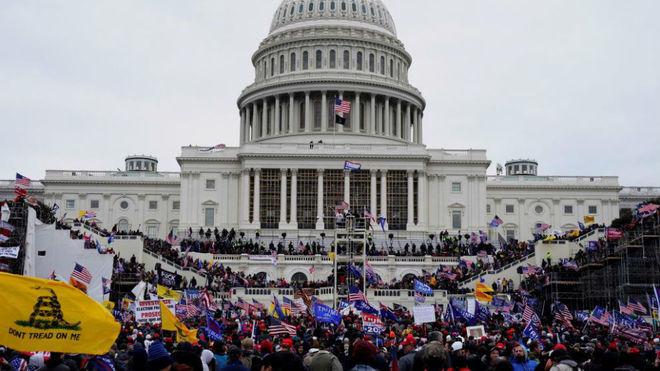 """La reacción de los jugadores tras el asalto al Capitolio: """"Hoy hubo un acto de terrorismo"""""""