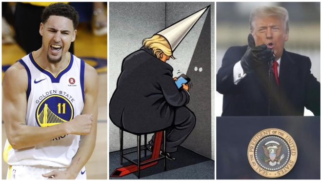 Klay Thompson criticises Trump and links him to the KKK