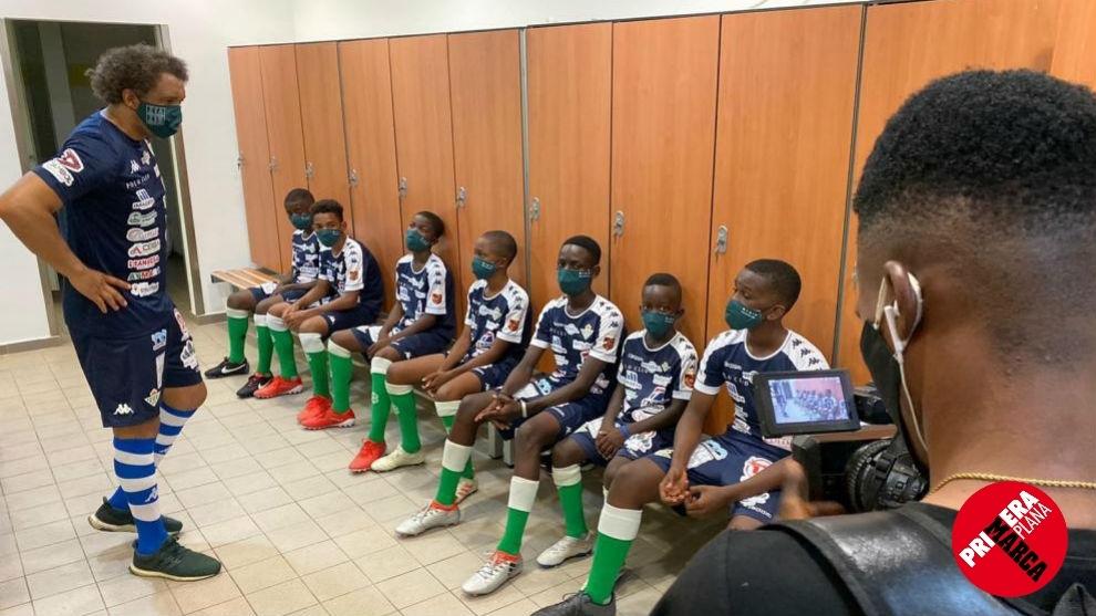 Proyecto Benjamín: valores y fútbol entre España y Guinea Ecuatorial