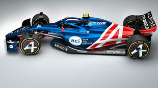 Alpine filtra las imágenes del coche de Fernando Alonso para 2021