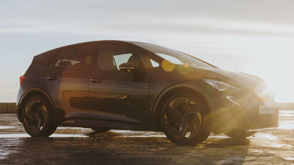 El Cupra el-Born tendrá una autonomía eléctrica de hasta 500 kilómetros.