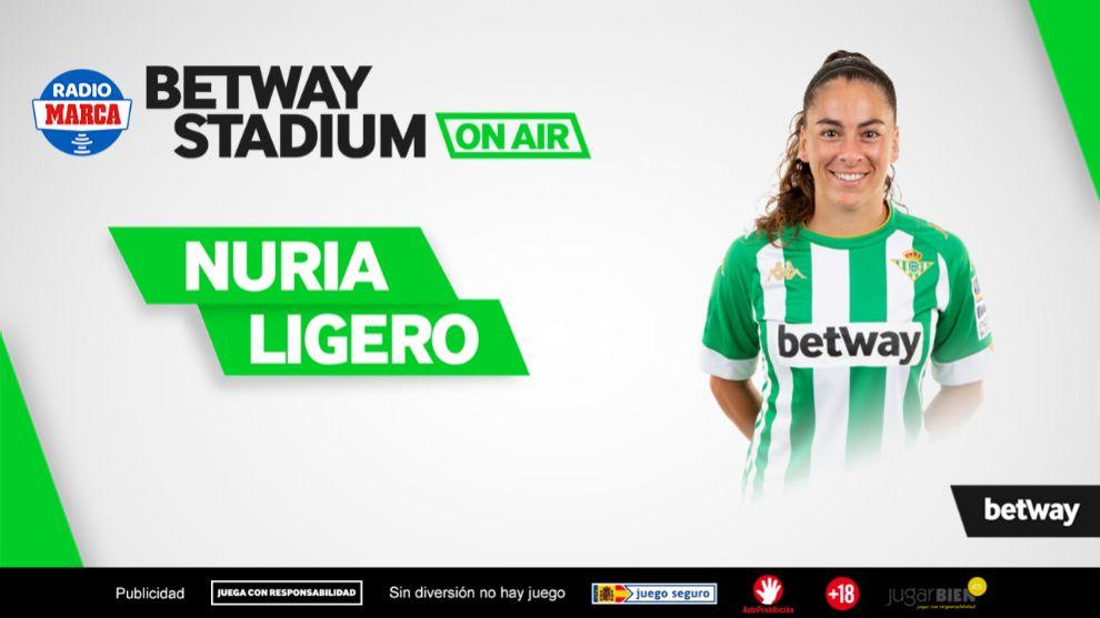 Nuria Ligero, jugadora del Betis