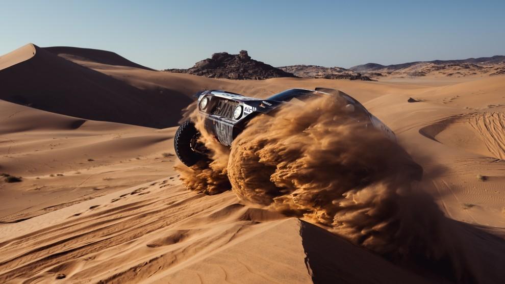 Sainz espera una segunda de Dakar más favorable.