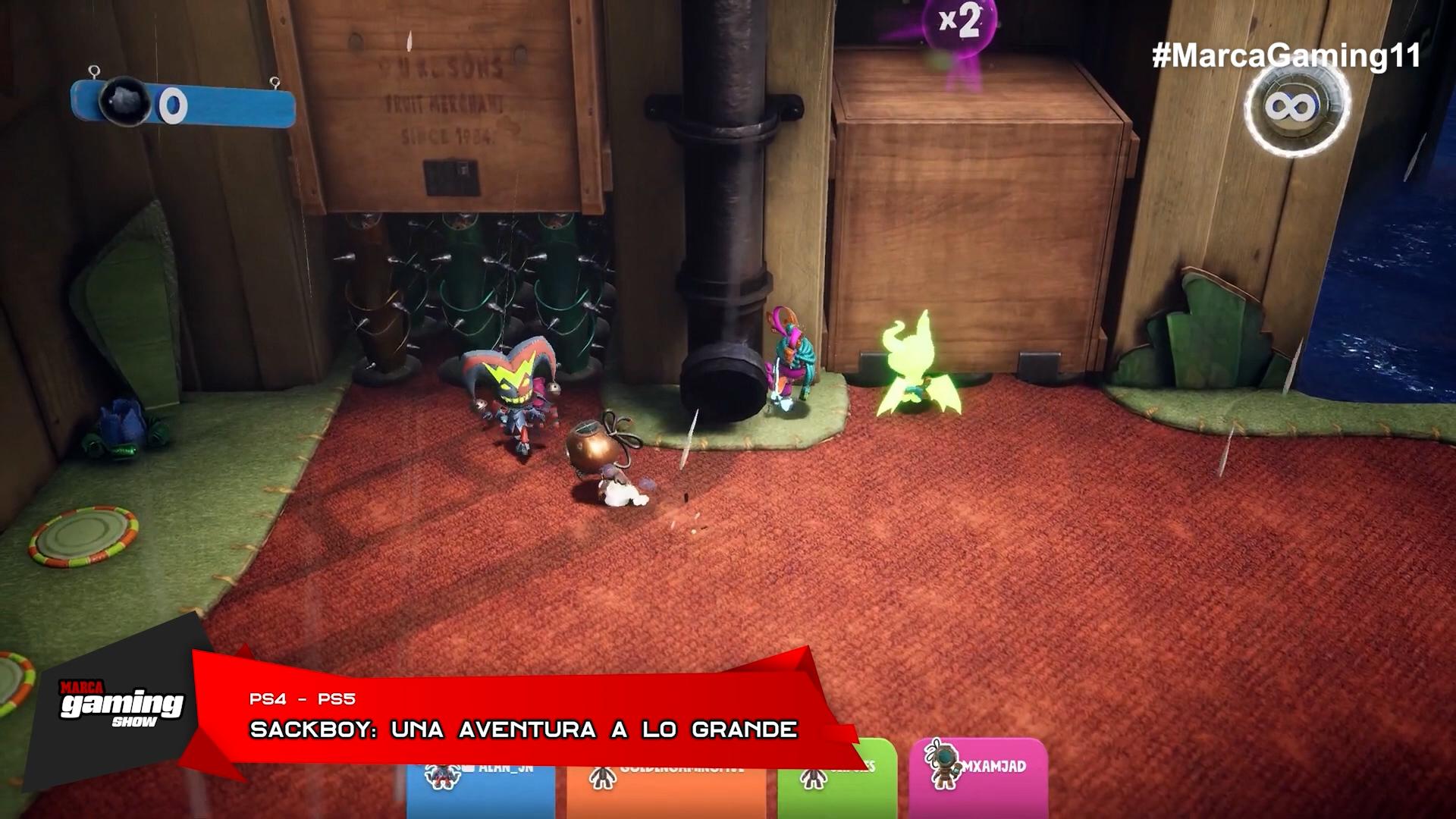 Sackboy: Una Aventura a lo Grande ( PS5 )