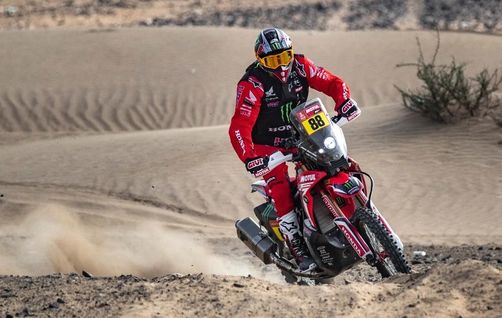 Barreda ha completado una gran primera semana de Dakar.