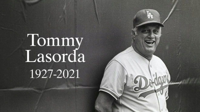 LA Dodgers legend Tommy Lasorda dies