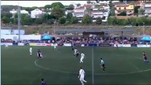 Así golea Ilaix Moriba, la joya de La Masía que hizo un hat-trick al Madrid con un gol desde el centro del campo