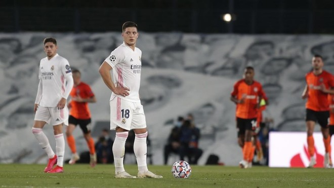Jovic in the Champions League