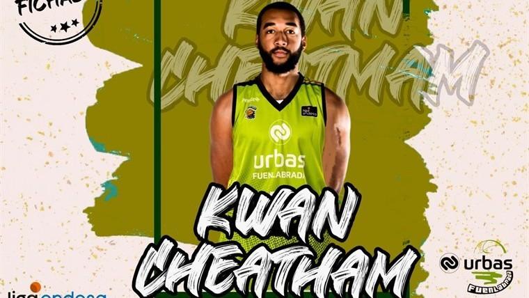 El Fuenlabrada se refuerza con el ala-pívot Kwan Cheatham
