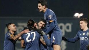 Porto vence al Famalicao en la Liga de Portugal.