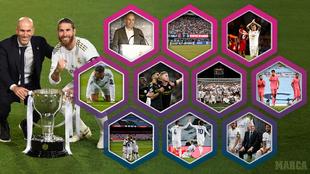 Las renovaciones y las 10 crisis de Zidane