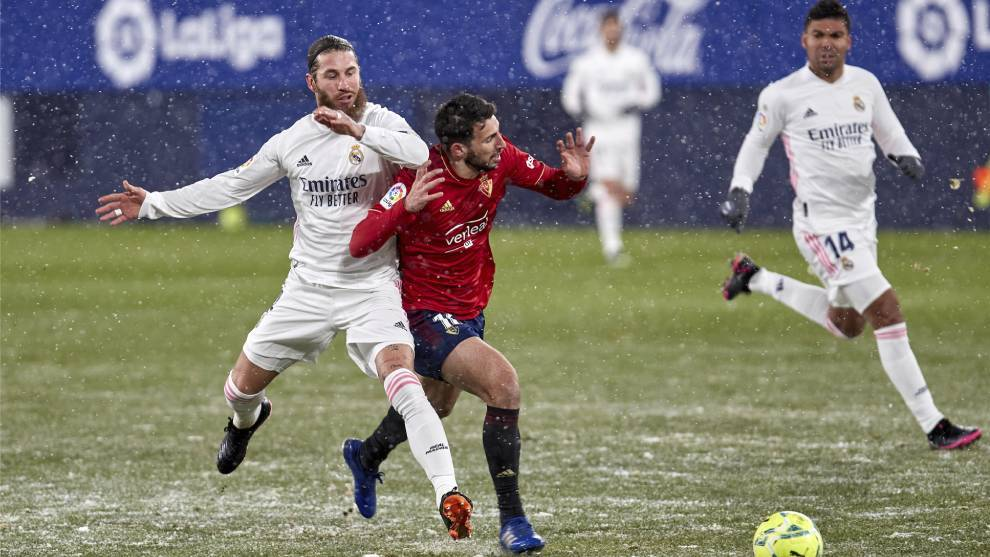Real Madrid frozen out at Osasuna