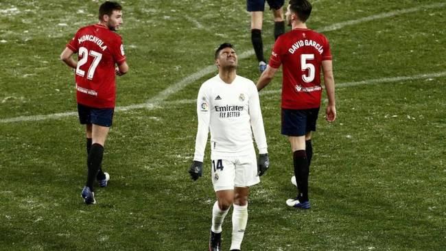 El Madrid se queda bloqueado