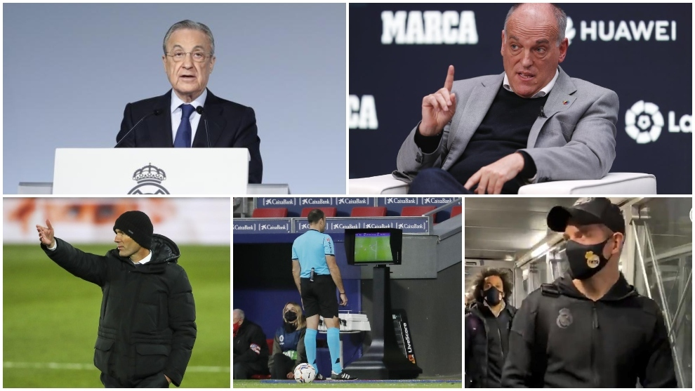 Real Madrid's war with LaLiga continues: Schedule, Super League, VAR, trip to Pamplona