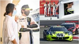 Valentino Rossi, en las 12 horas del Golfo disputadas en Bahréin.