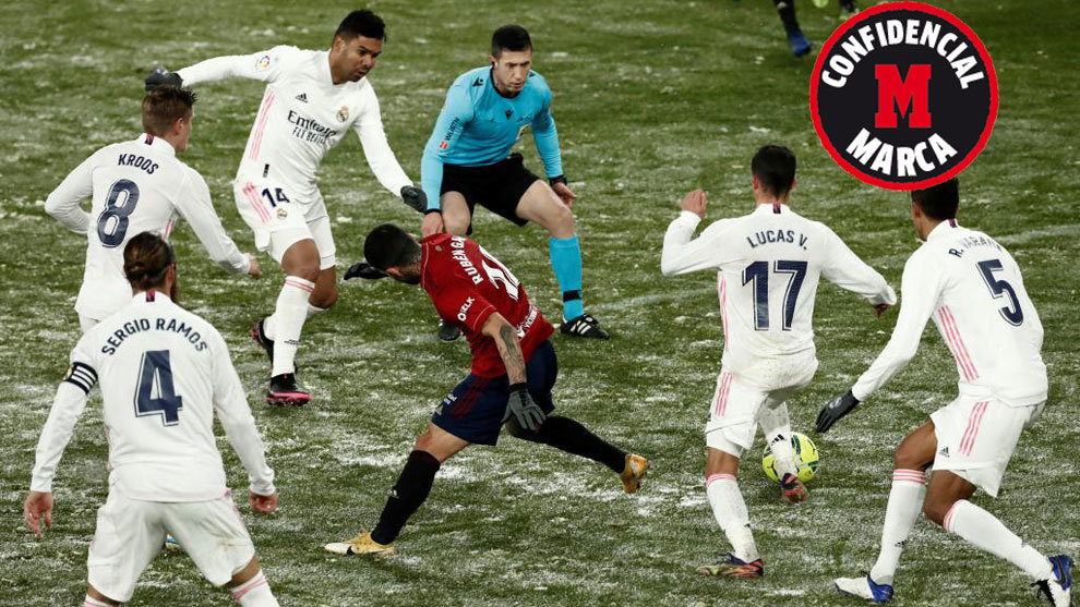 Real Madrid never officially requested Osasuna game to be suspended