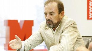 Ángel Torres, en una visita a MARCA