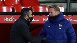 Koeman: If everyone is well, Barcelona can fight for titles